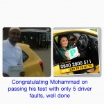 I had driving lessons with one of the national driving schools but was having problems with passing my test, I am glad I found Road Matters Driving School, Mohammad