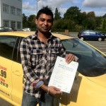 """I passed first time with Road Matters Driving School, I used various driving Schools in Coventry but when I started my driving lessons with Road Matters I could feel the difference"" Rinku"